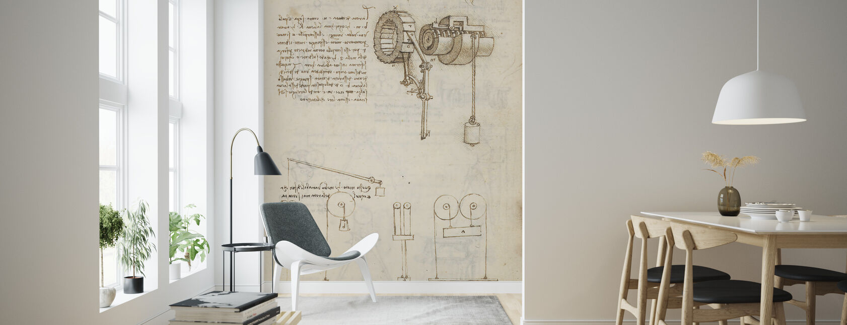 Codex Madrid - Wallpaper - Living Room