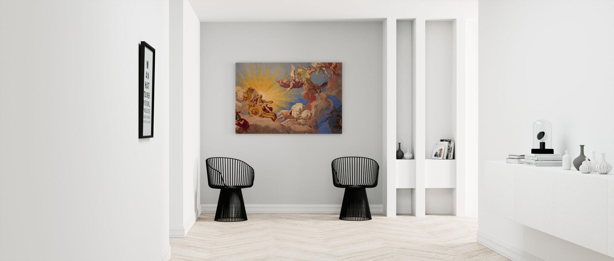 Ceiling Fresco Apotheosis of Emperor Karl VI - Canvas print - Hallway