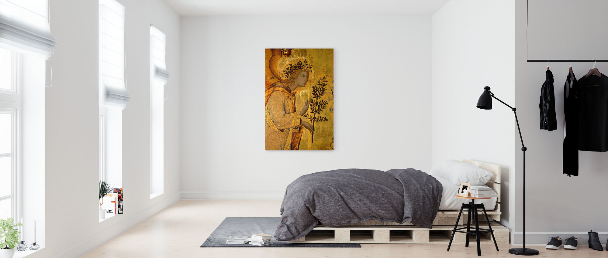 Angel of the Annunciation - Canvas print - Bedroom