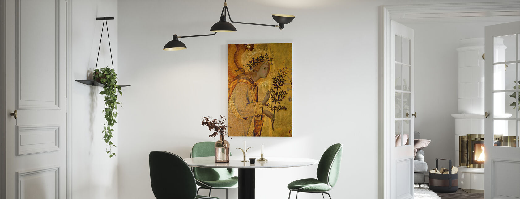 Angel of the Annunciation - Canvas print - Kitchen