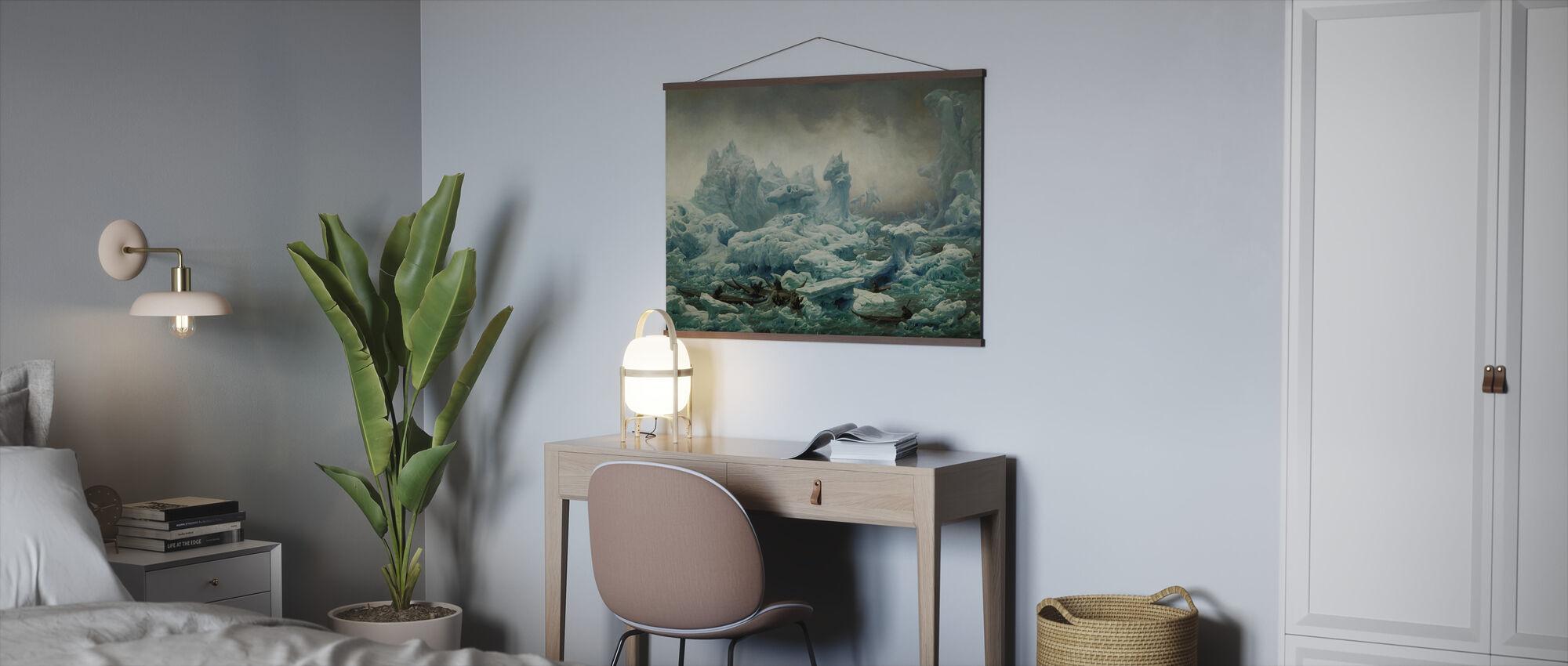 Groenlanders Jagen Walrus - Poster - Kantoor