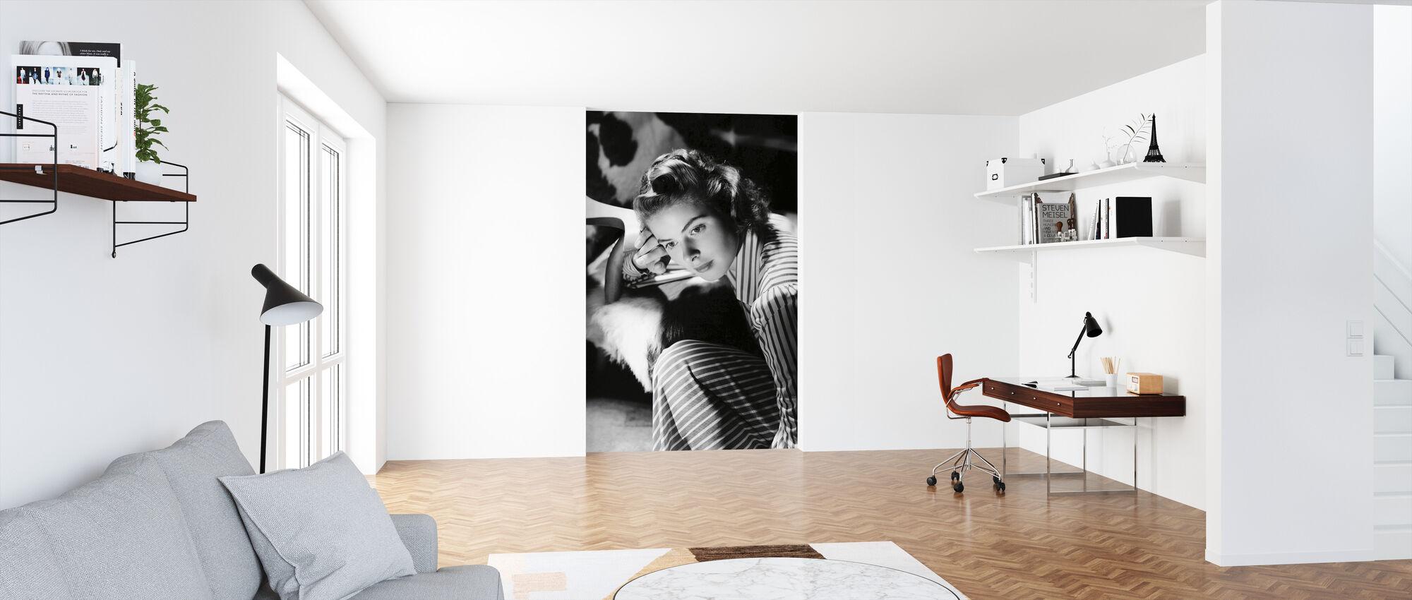 Ingrid Bergman - Tapet - Kontor