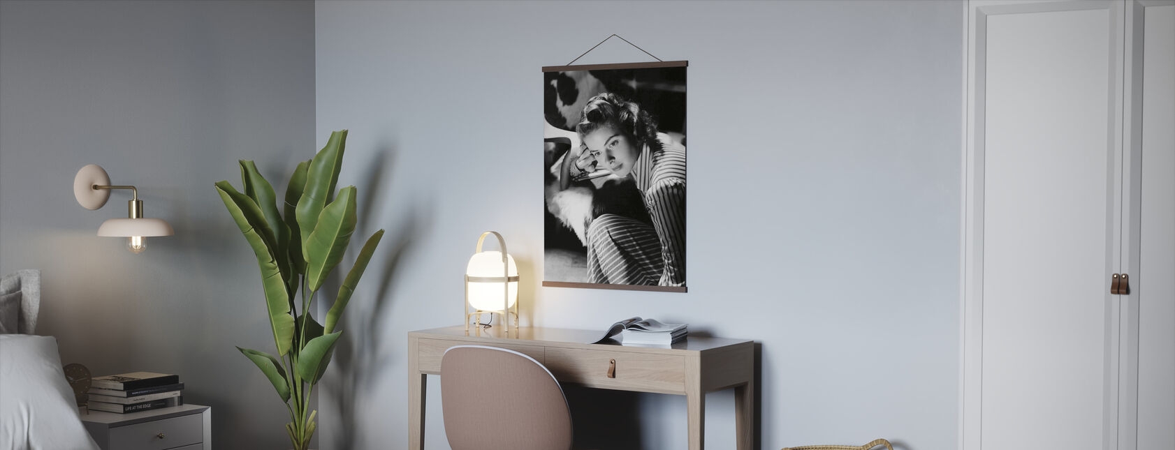 Ingrid Bergman - Poster - Office