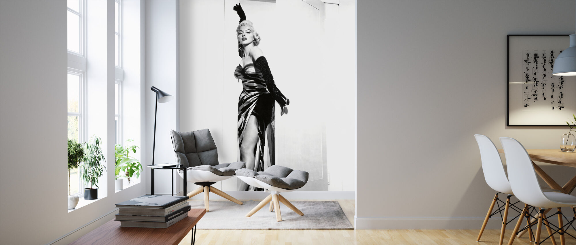Marilyn Monroe in the Seven Year Itch - Wallpaper - Living Room