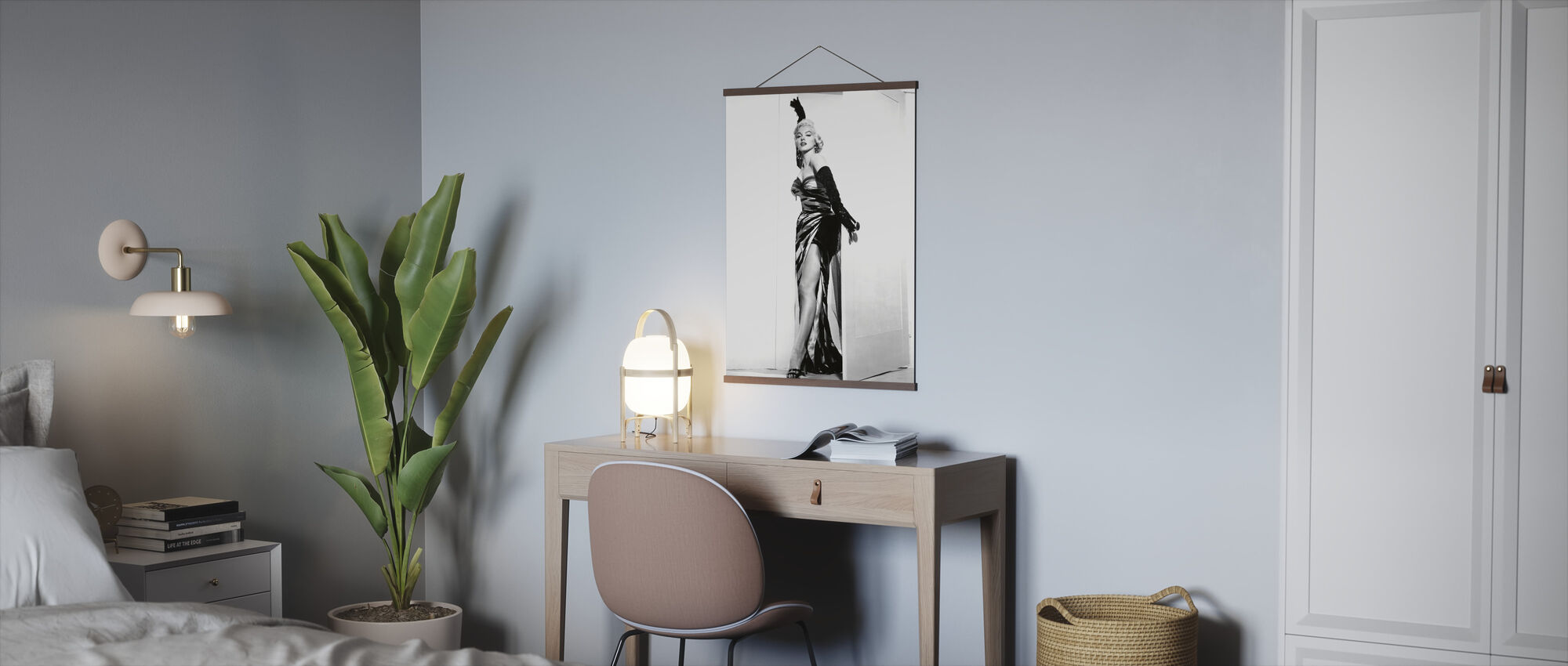 Marilyn Monroe in the Seven Year Itch - Poster - Office