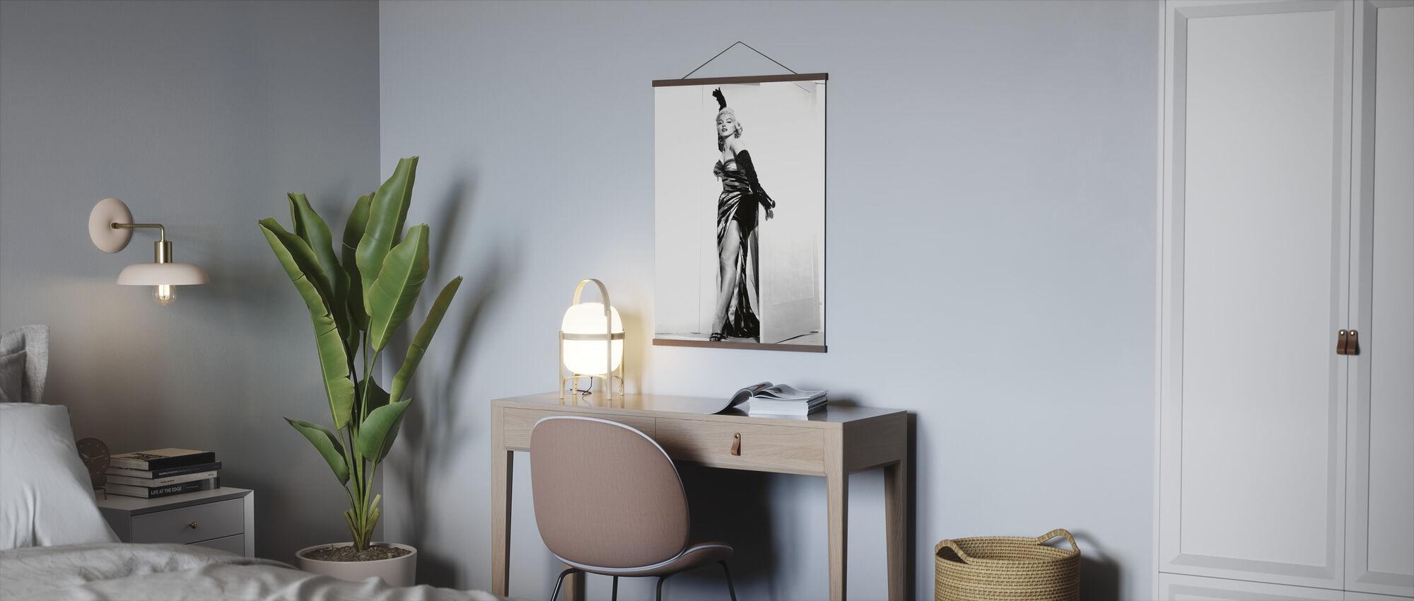 Marilyn Monroe i syvåret Kløe - Plakat - Kontor