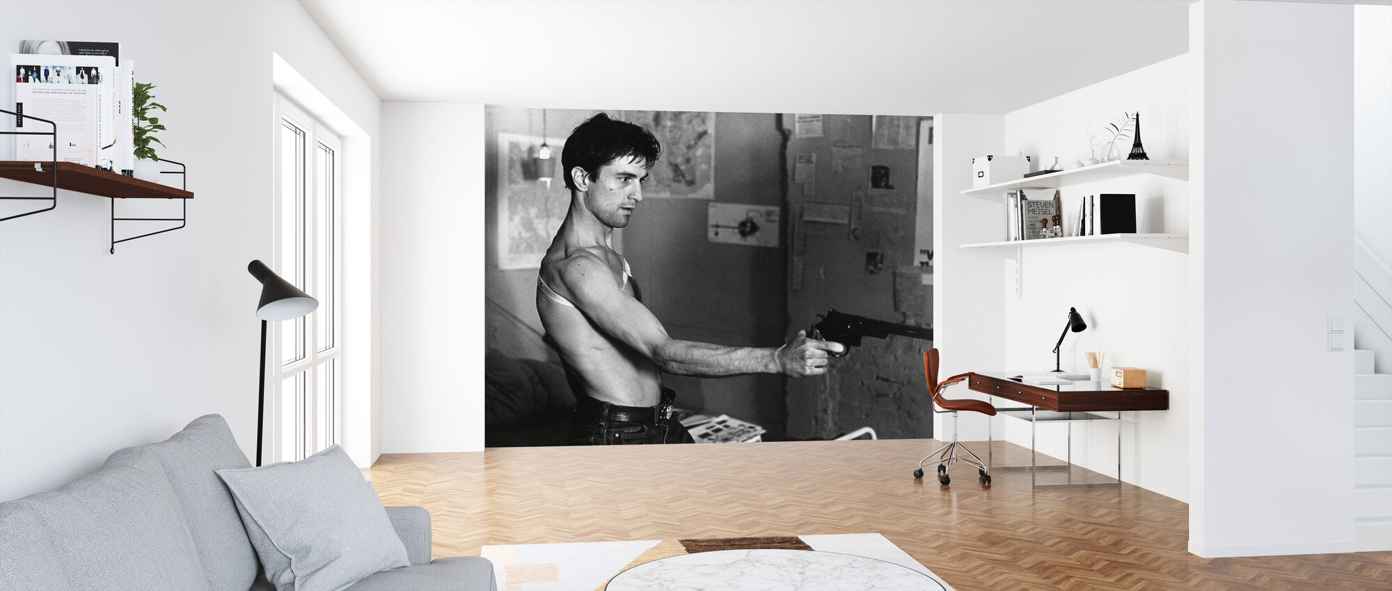 Robert De Niro in Taxi Driver - Wallpaper - Office