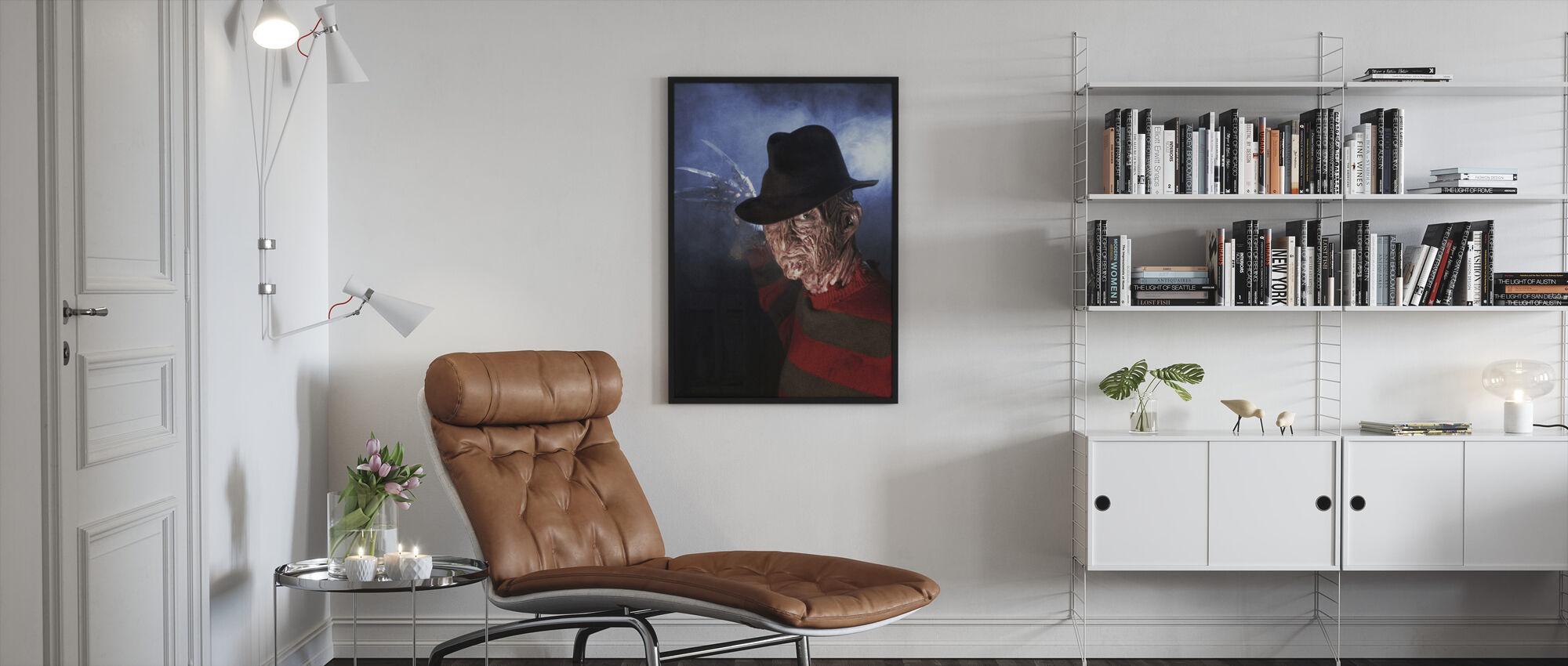 Robert Englund in a Nightmare on Elm Street - Framed print - Living Room
