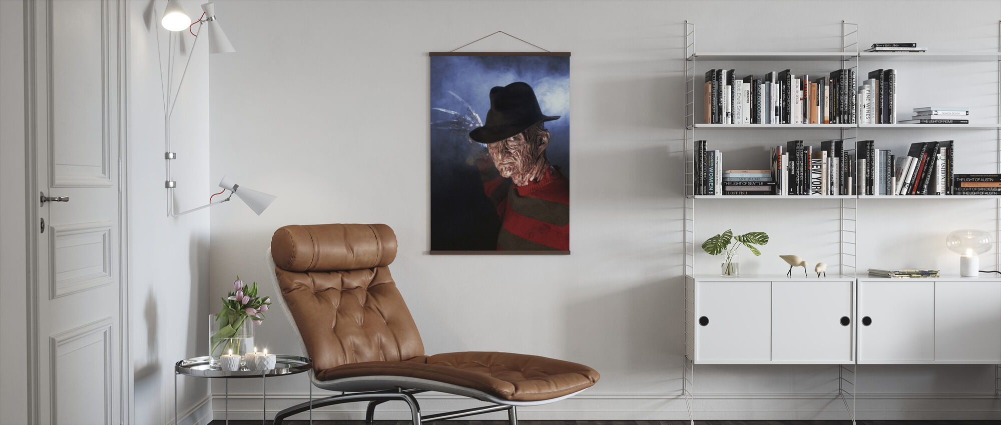 Robert Englund in a Nightmare on Elm Street - Poster - Living Room