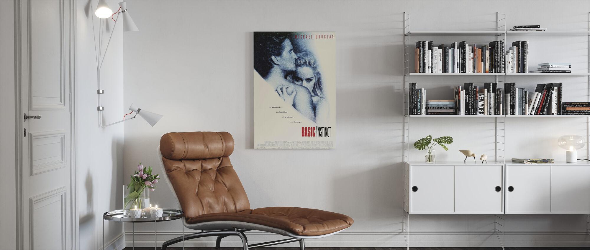 Basic Instinct - Canvas print - Living Room