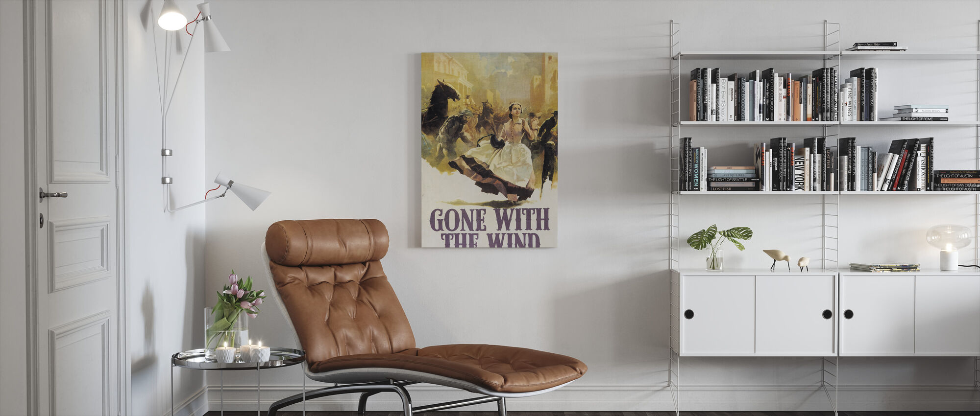 Gone with the Wind - Canvas print - Living Room