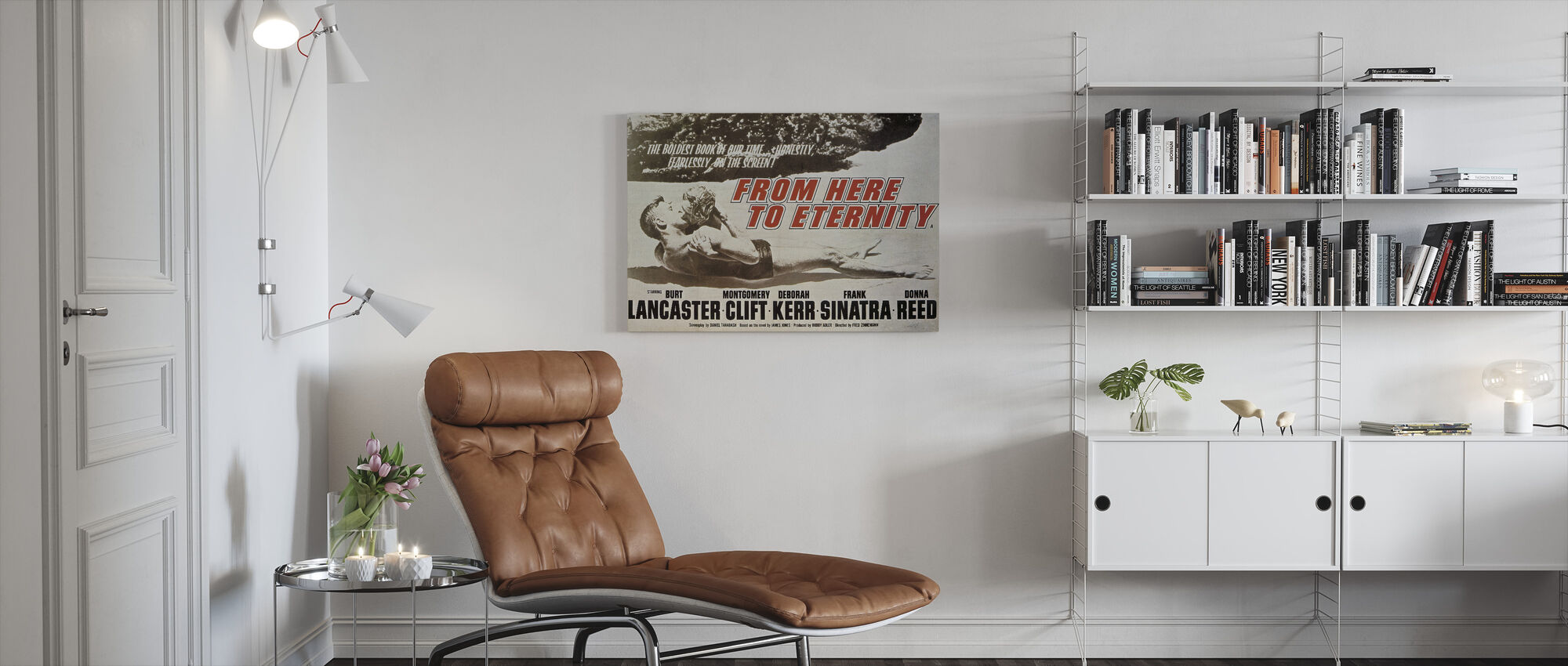 From Here to Eternity - Canvas print - Living Room
