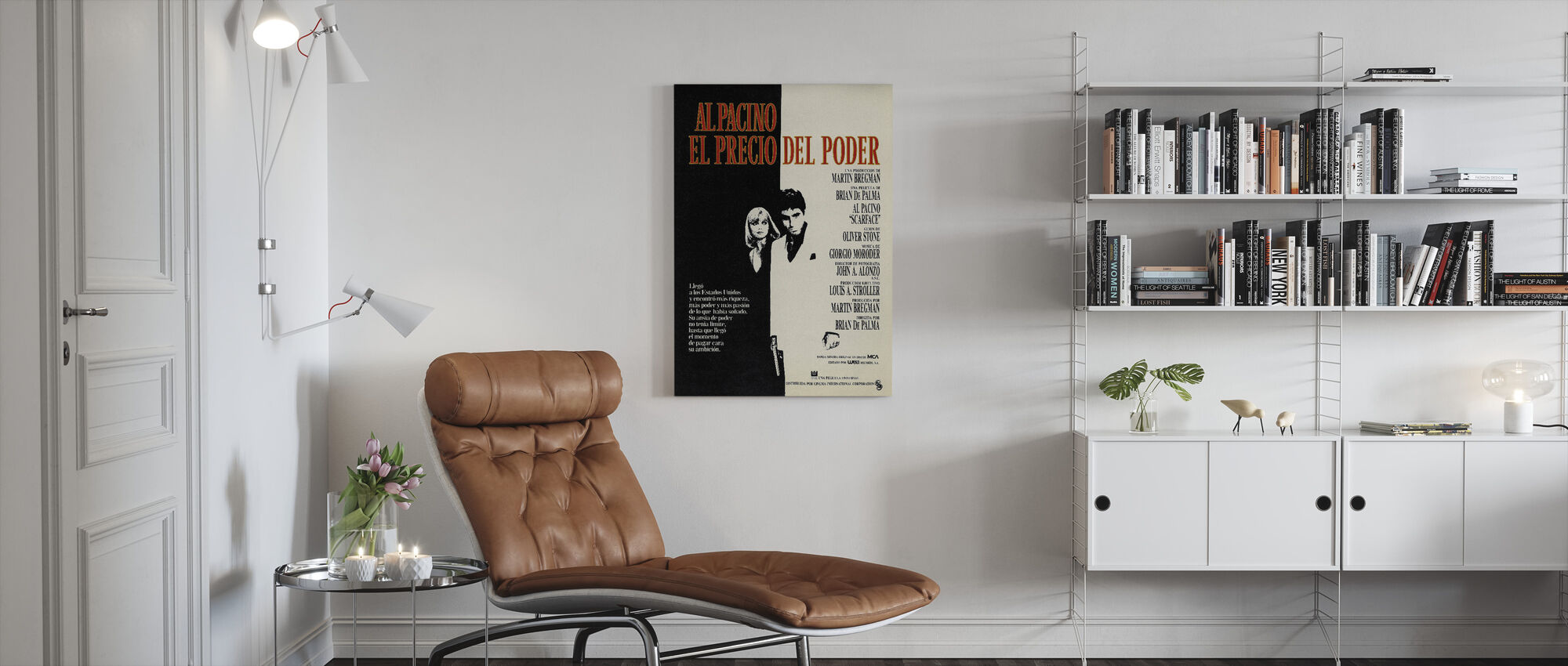Scarface - Canvas print - Living Room
