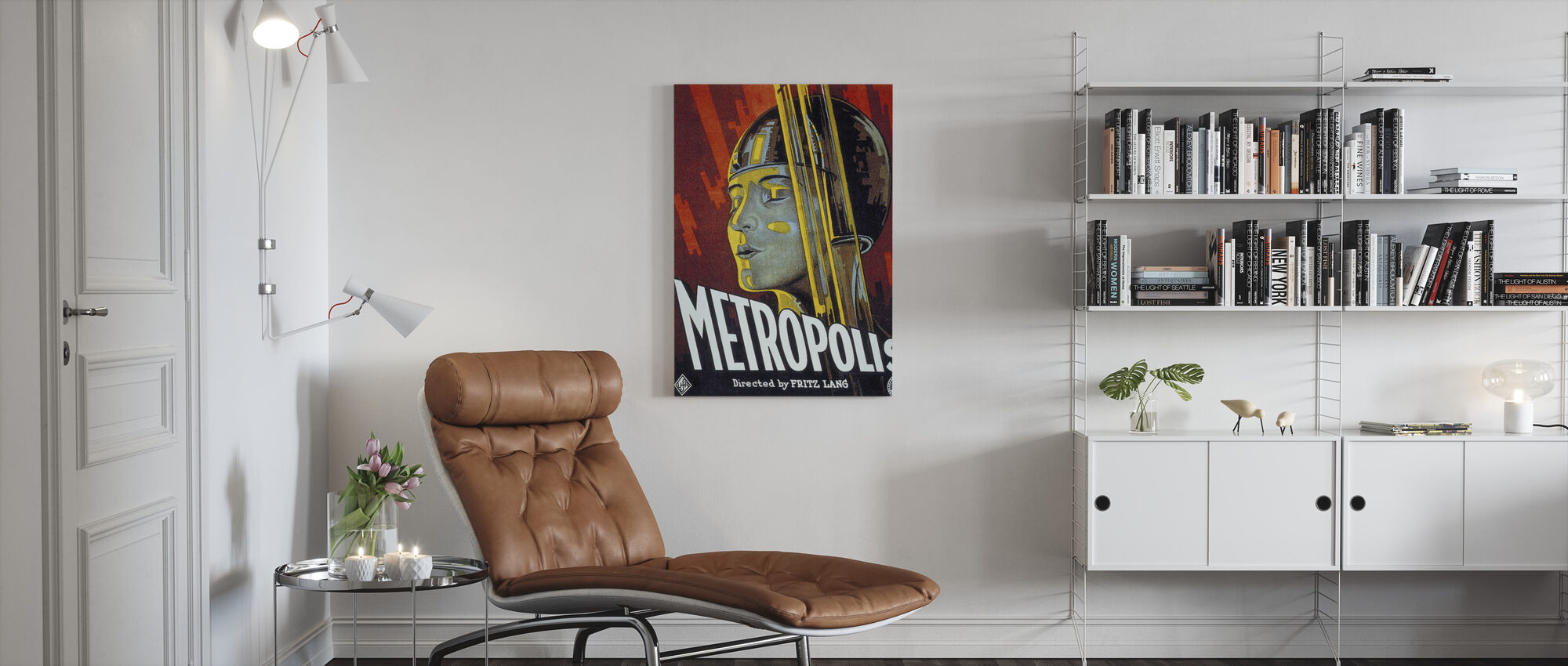 Metropolis - Canvas print - Living Room