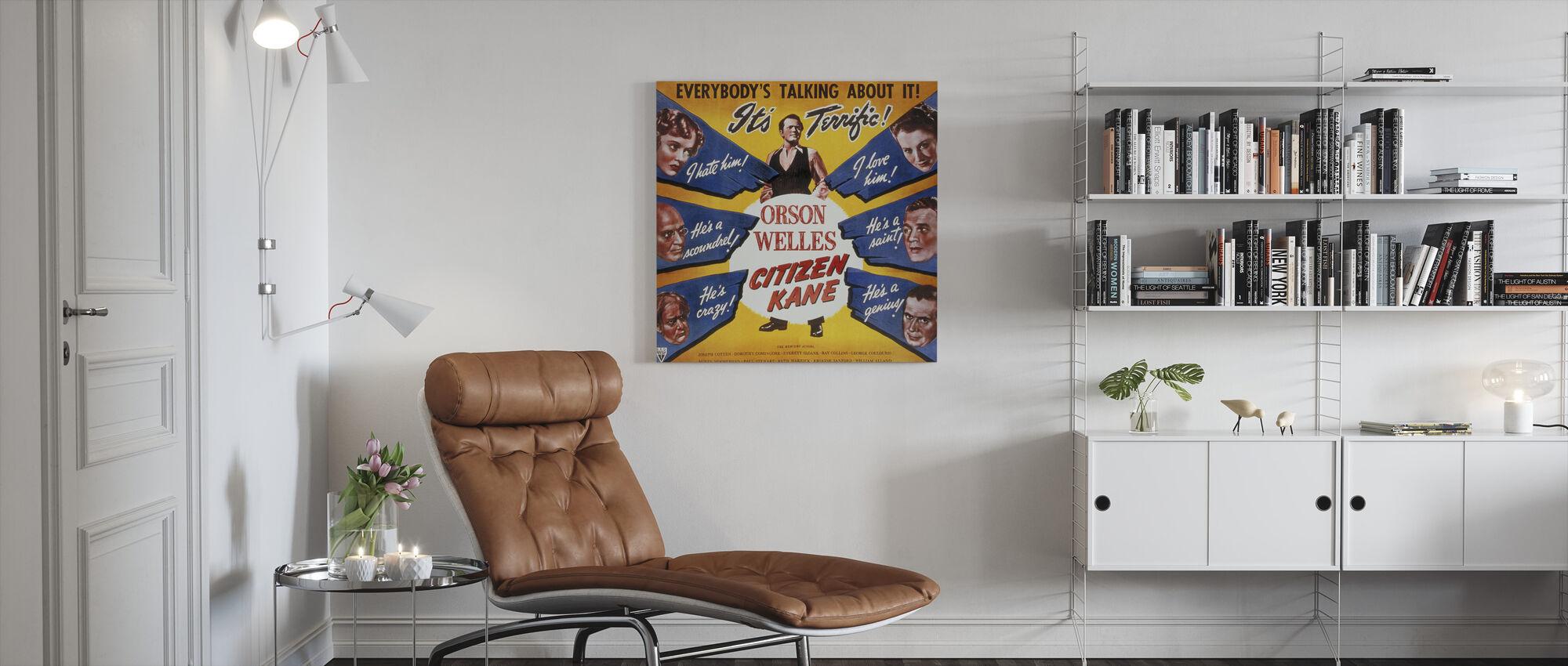 Citizen Kane - Canvas print - Living Room