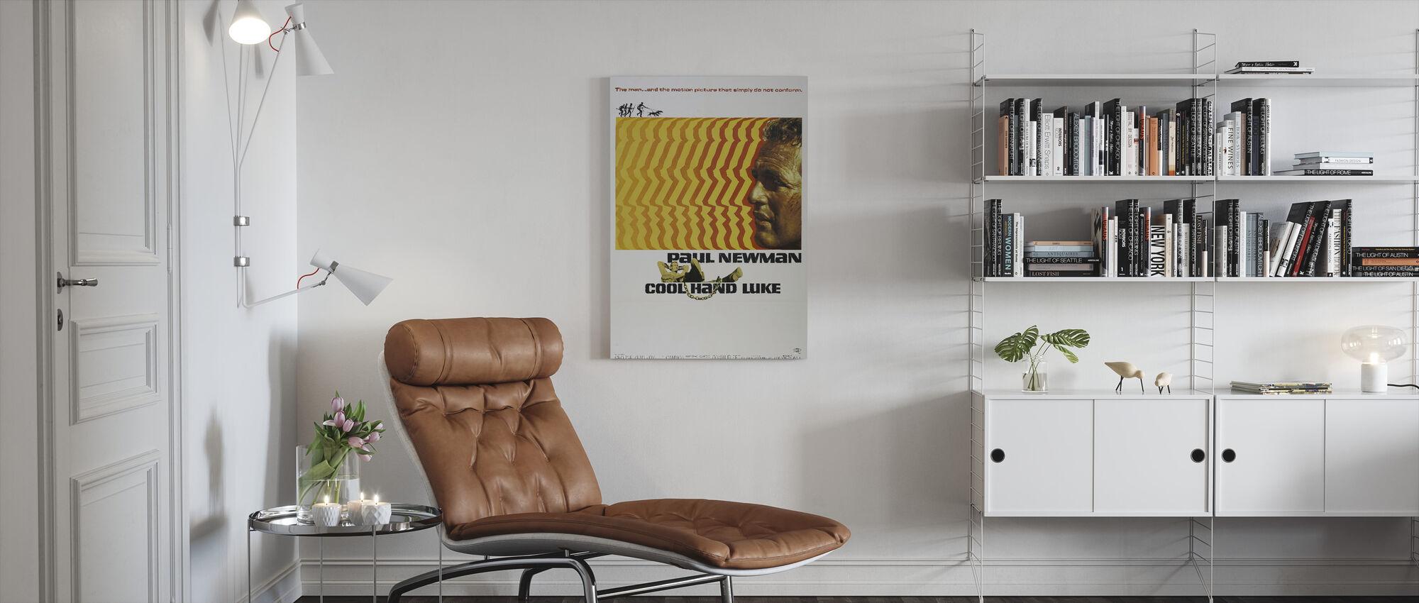 Cool Hand Luke - Canvas print - Living Room