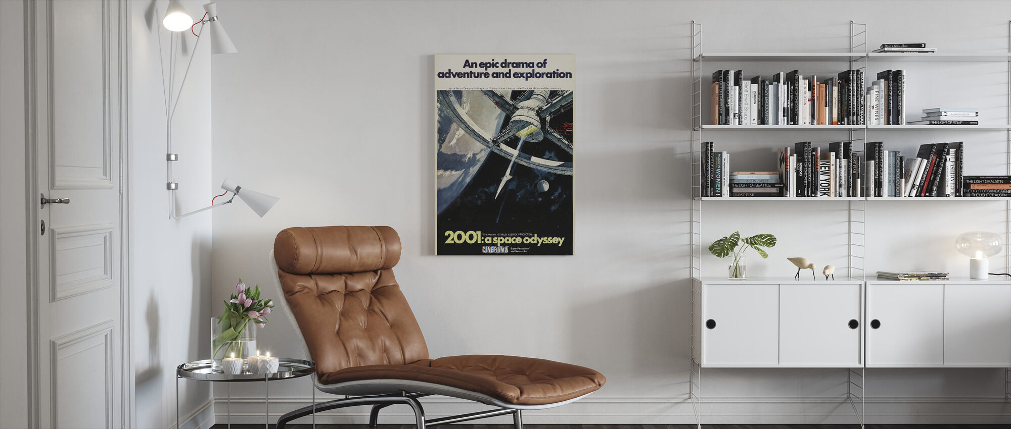 2001 A Space Odyssey - Canvas print - Living Room