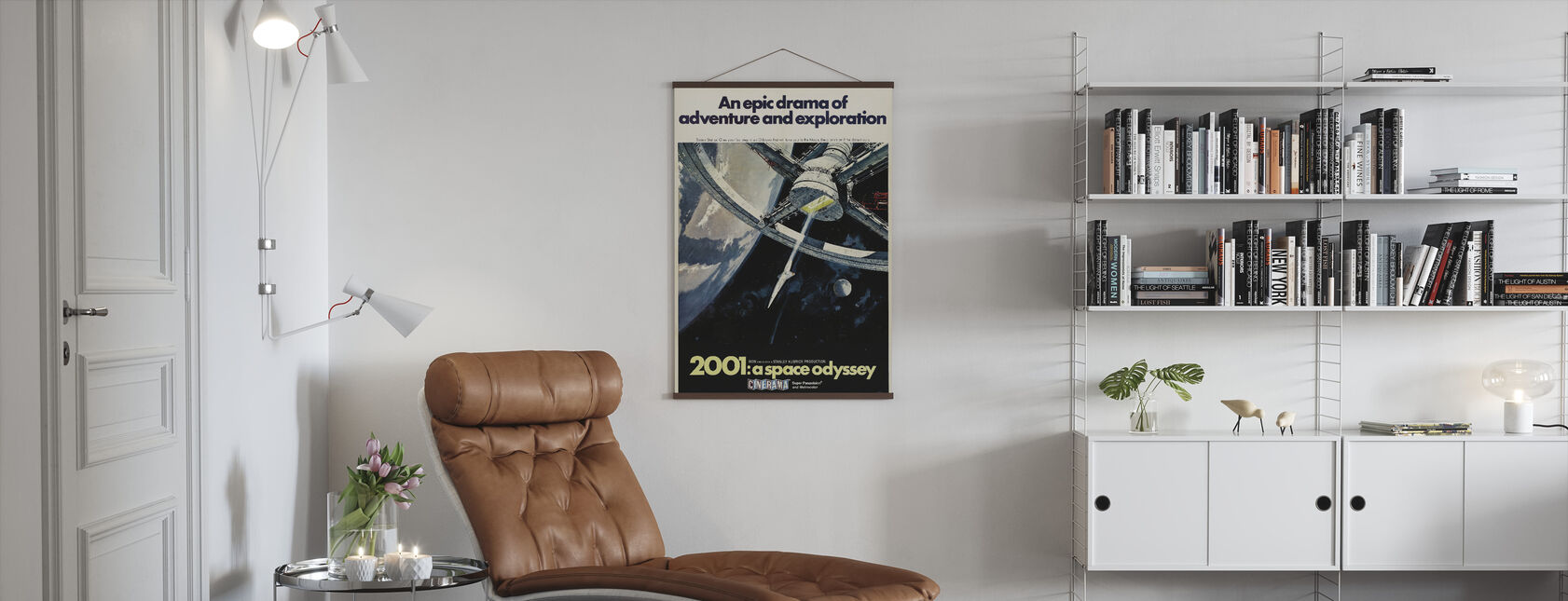 2001 En Space Odyssey - Plakat - Stue