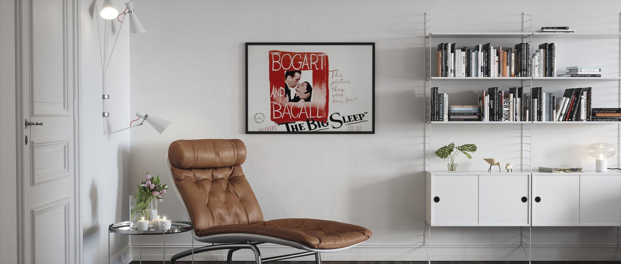 Big Sleep - Framed print - Living Room