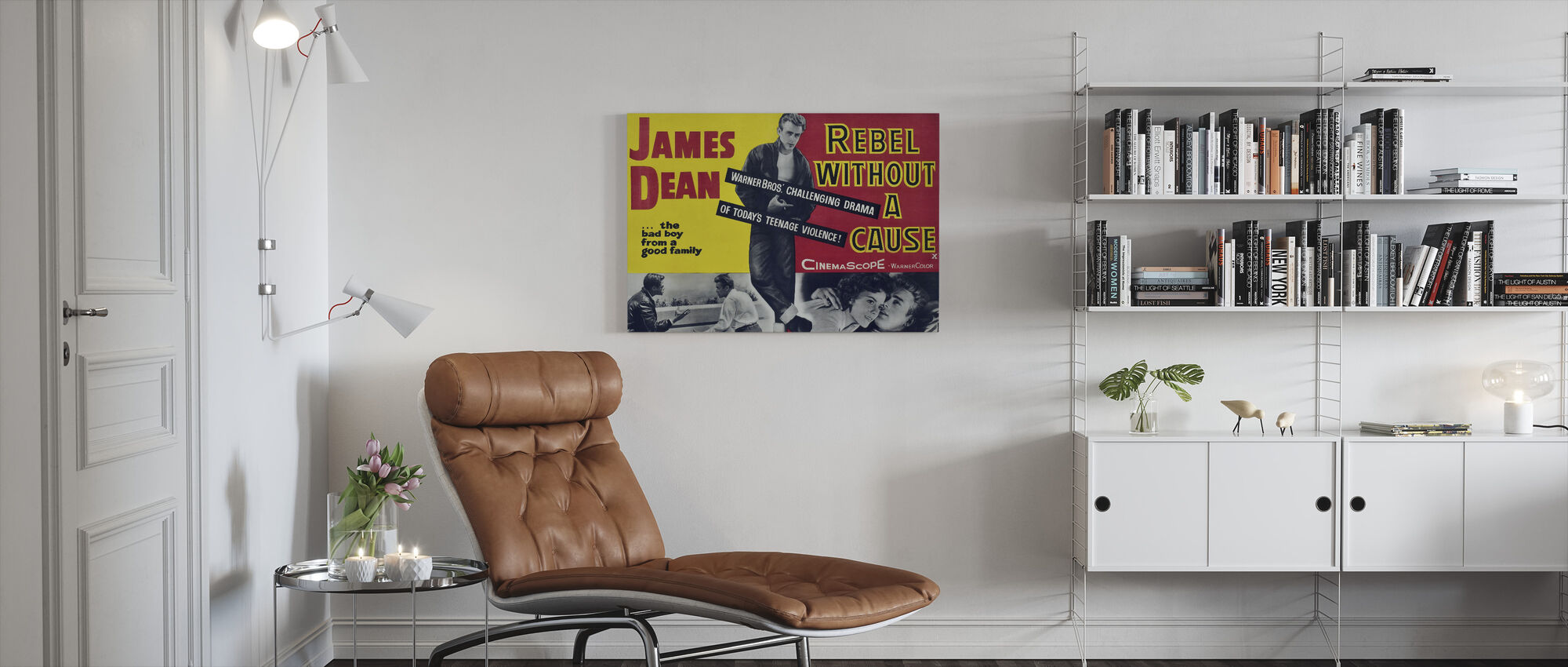 Rebel Without a Cause - Canvas print - Living Room