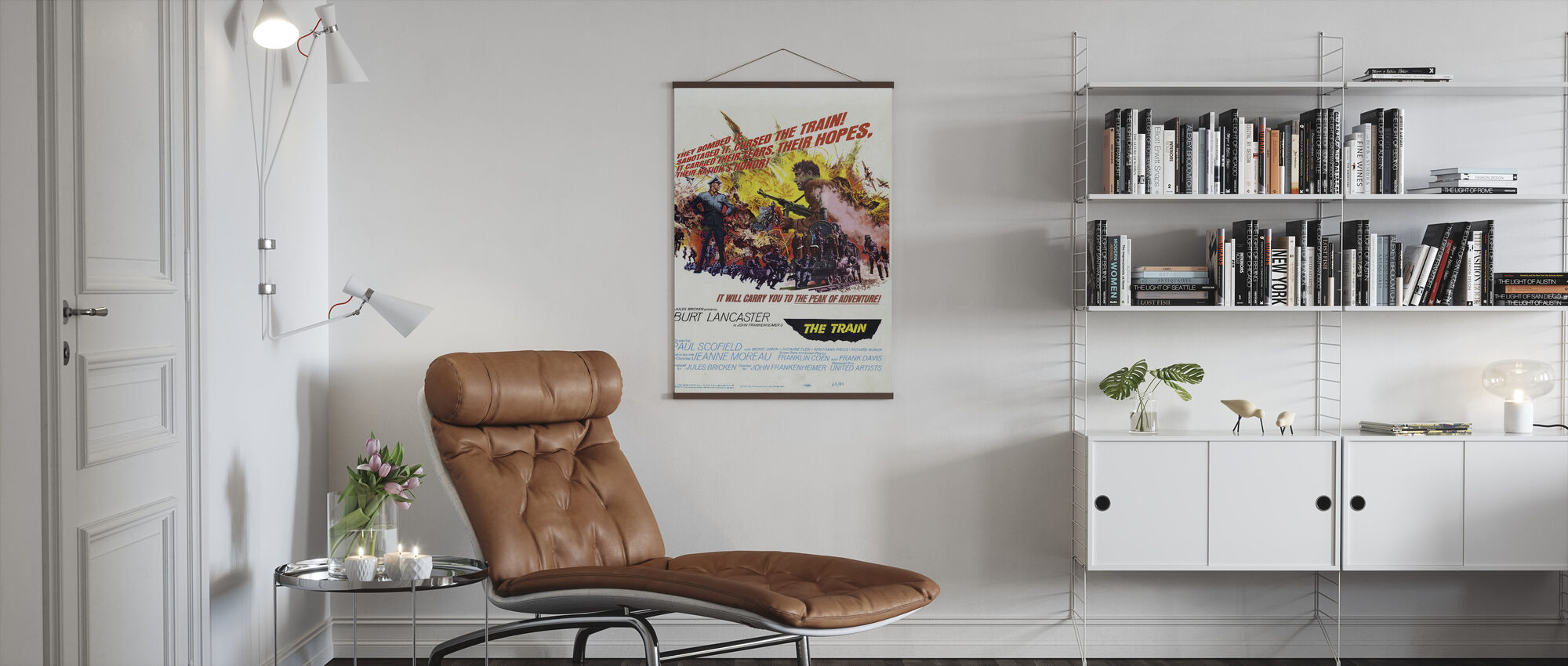 Train - Poster - Living Room