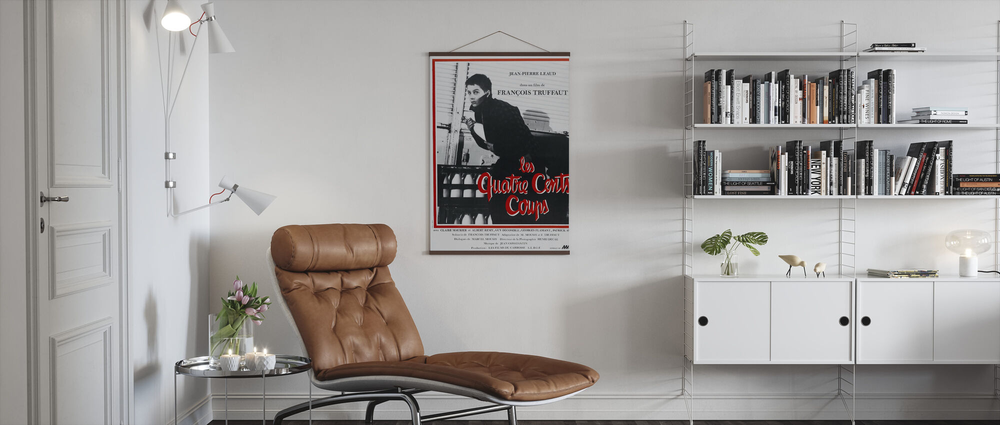 Four Hundred Blows - Poster - Living Room