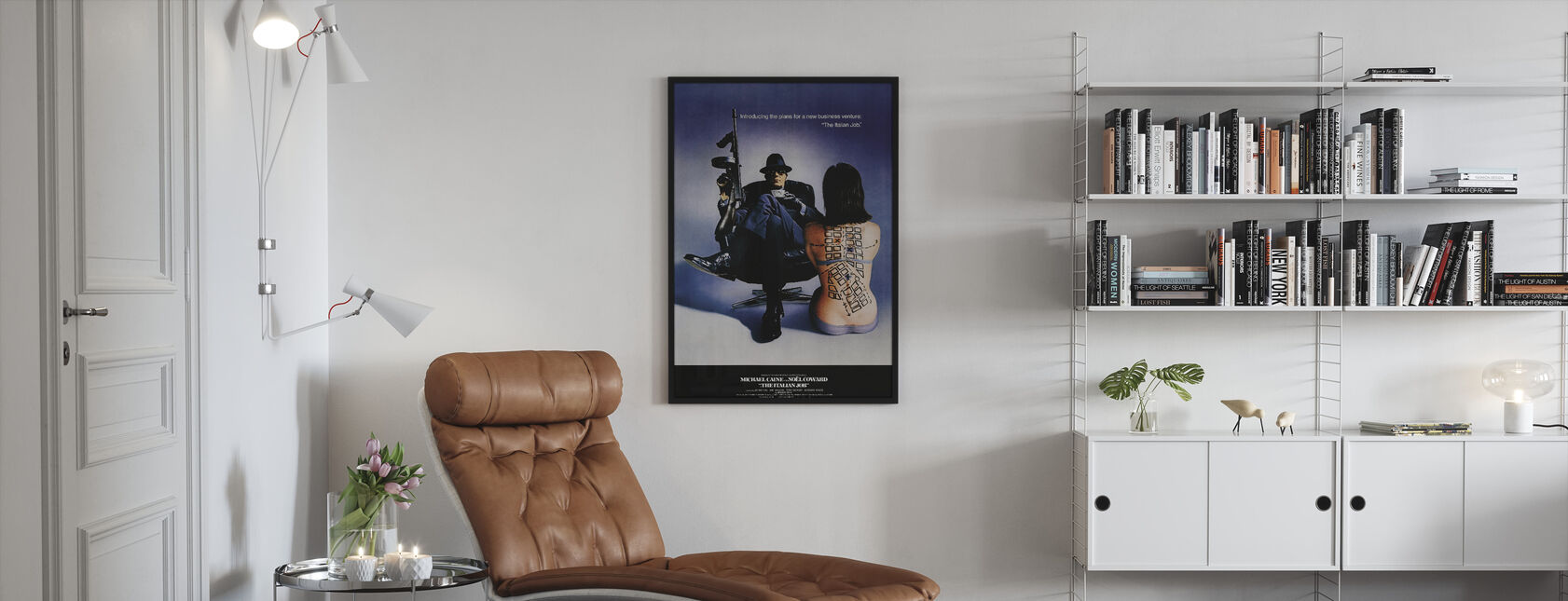 Italian Job - Framed print - Living Room