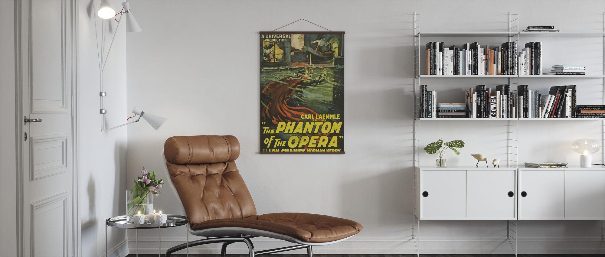 Phantom of the Opera - Poster - Living Room