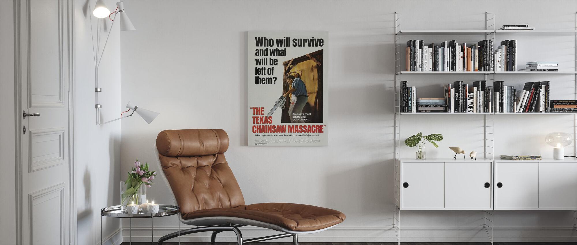 Texas Chainsaw Massacre - Canvas print - Living Room