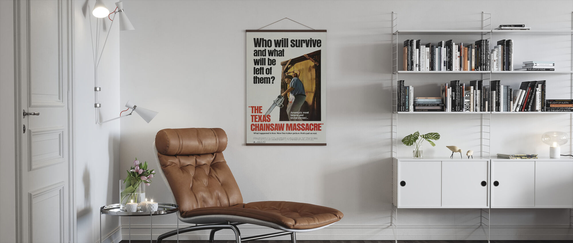 Texas Chainsaw Massacre - Poster - Living Room