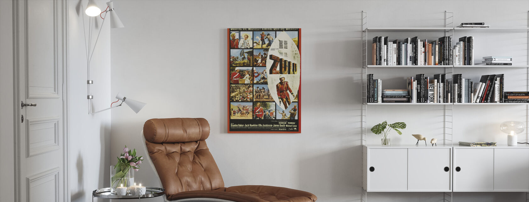 Zulu - Canvas print - Living Room