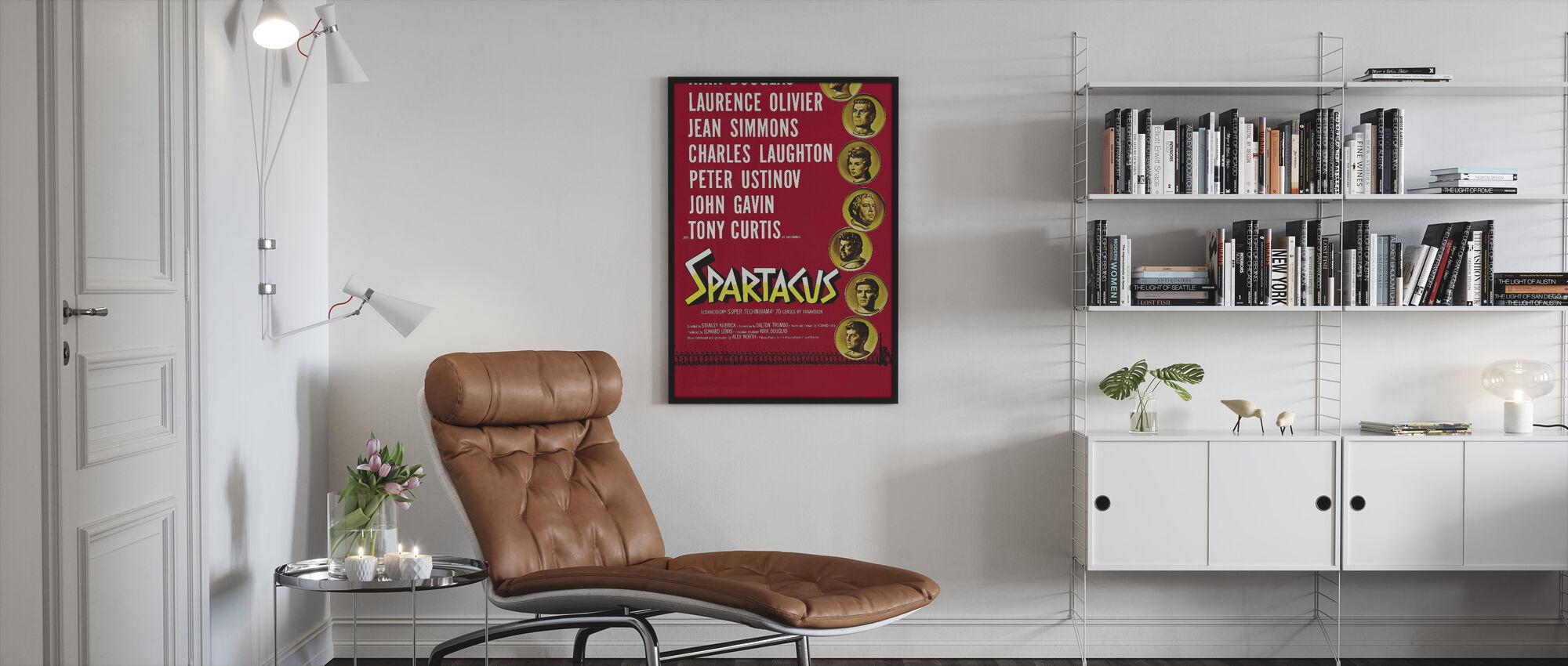 Spartacus - Kehystetty kuva - Olohuone