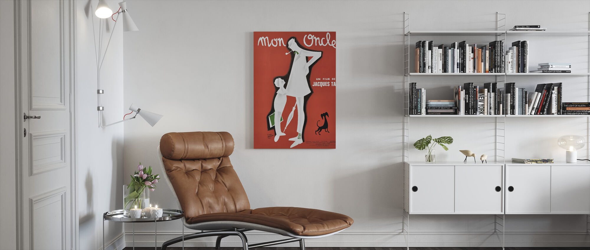 My Uncle - Canvas print - Living Room