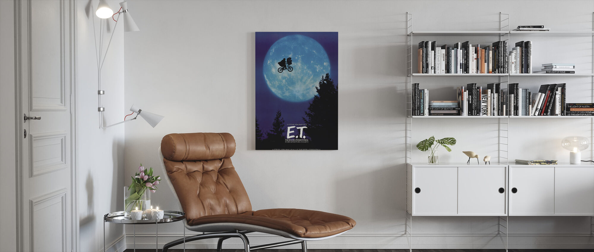 E T - Canvas print - Woonkamer