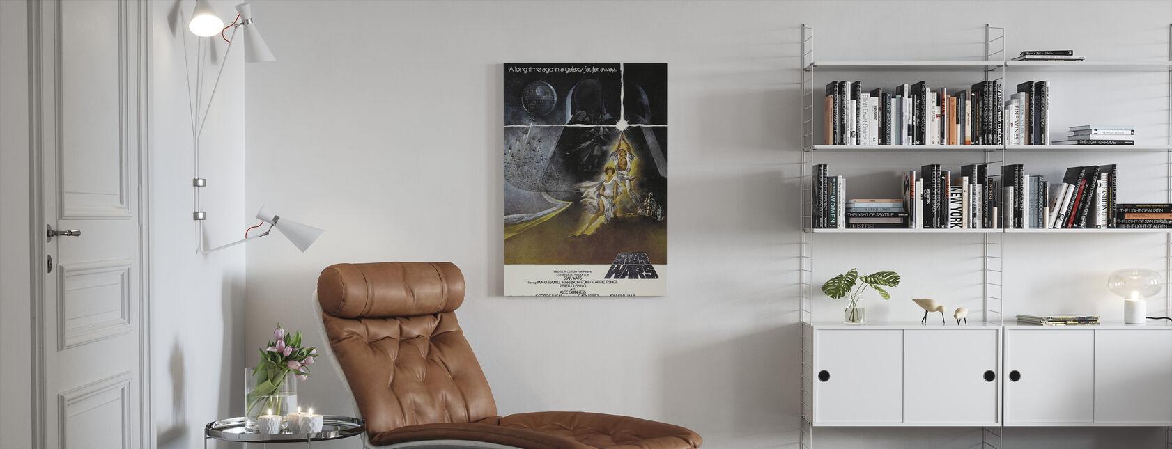 Star Wars Episode IV - Canvas print - Woonkamer
