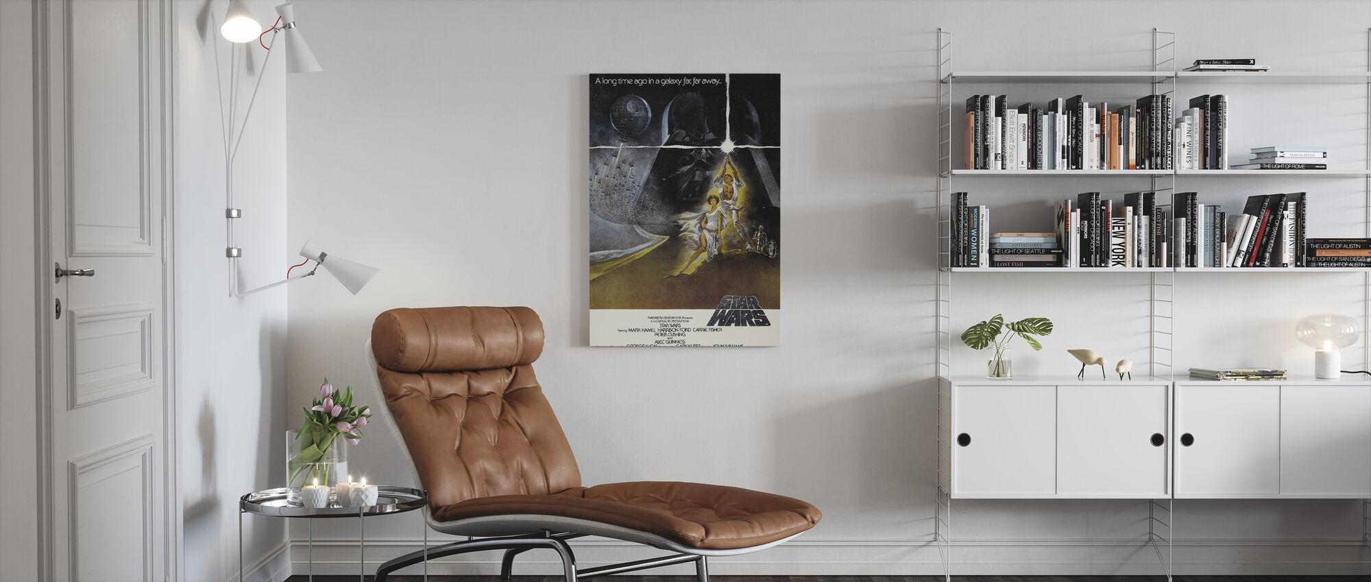 Star Wars Episode IV - Canvas print - Living Room