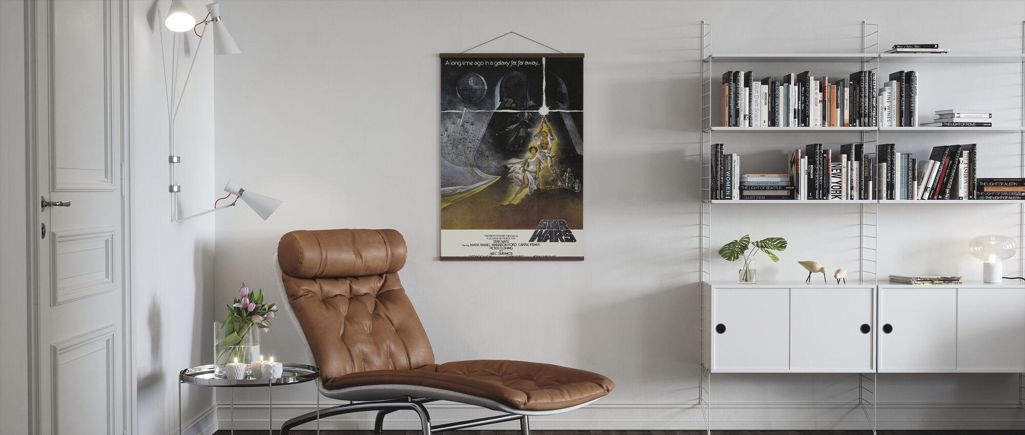 Star Wars Episode IV - Poster - Living Room