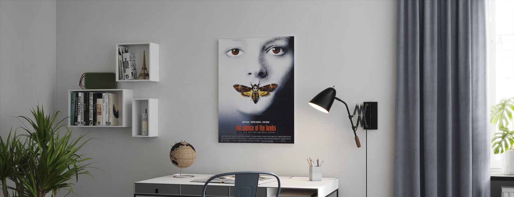 Silence of the Lambs - Canvas print - Office