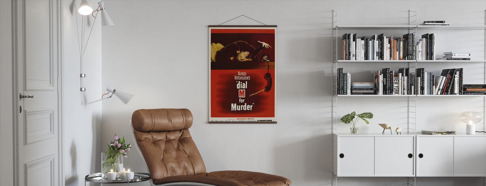 Kies M voor moord - Poster - Woonkamer