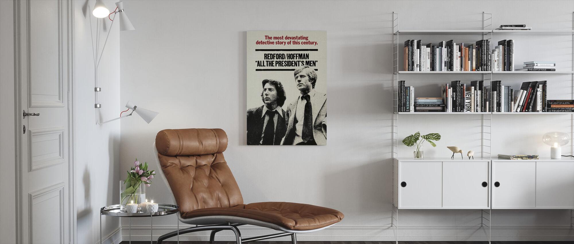 Alle Präsidenten Männer - Leinwandbild - Wohnzimmer