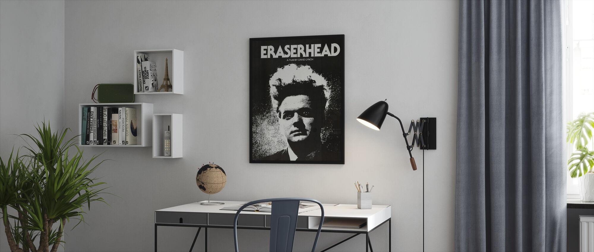 Eraserhead - Kehystetty kuva - Toimisto