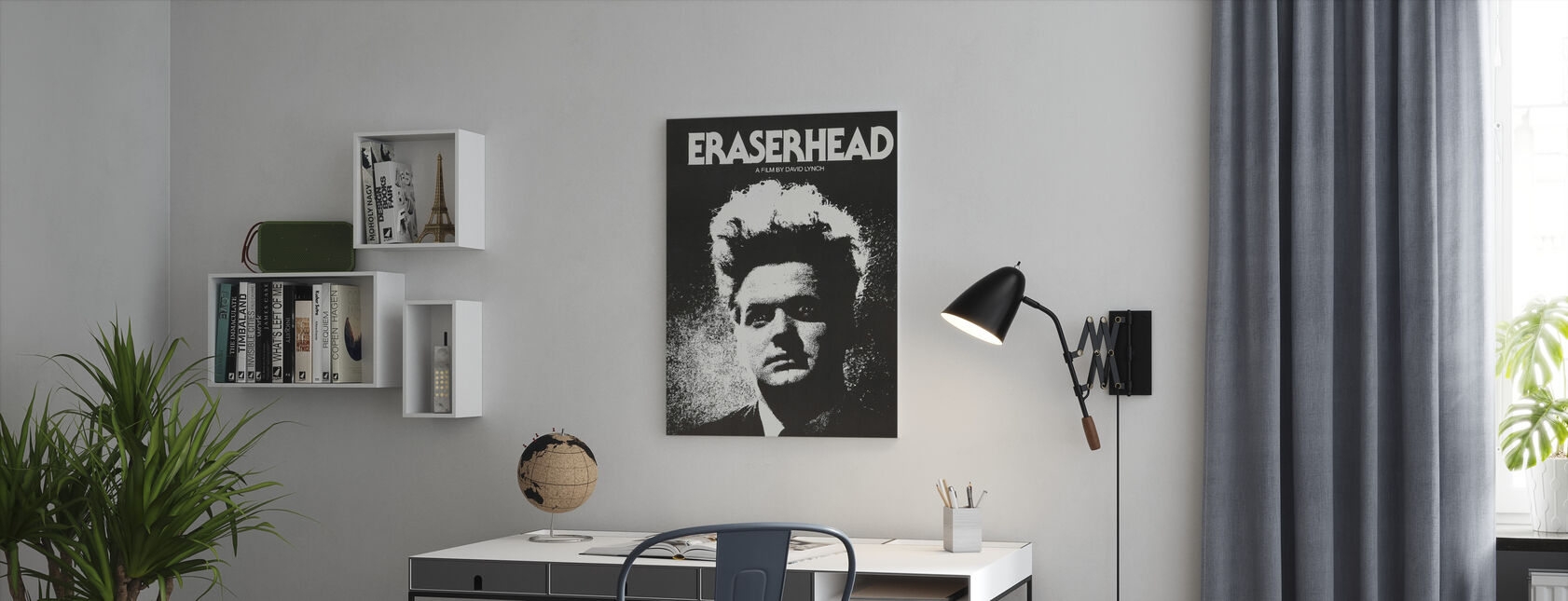 Eraserhead - Lerretsbilde - Kontor