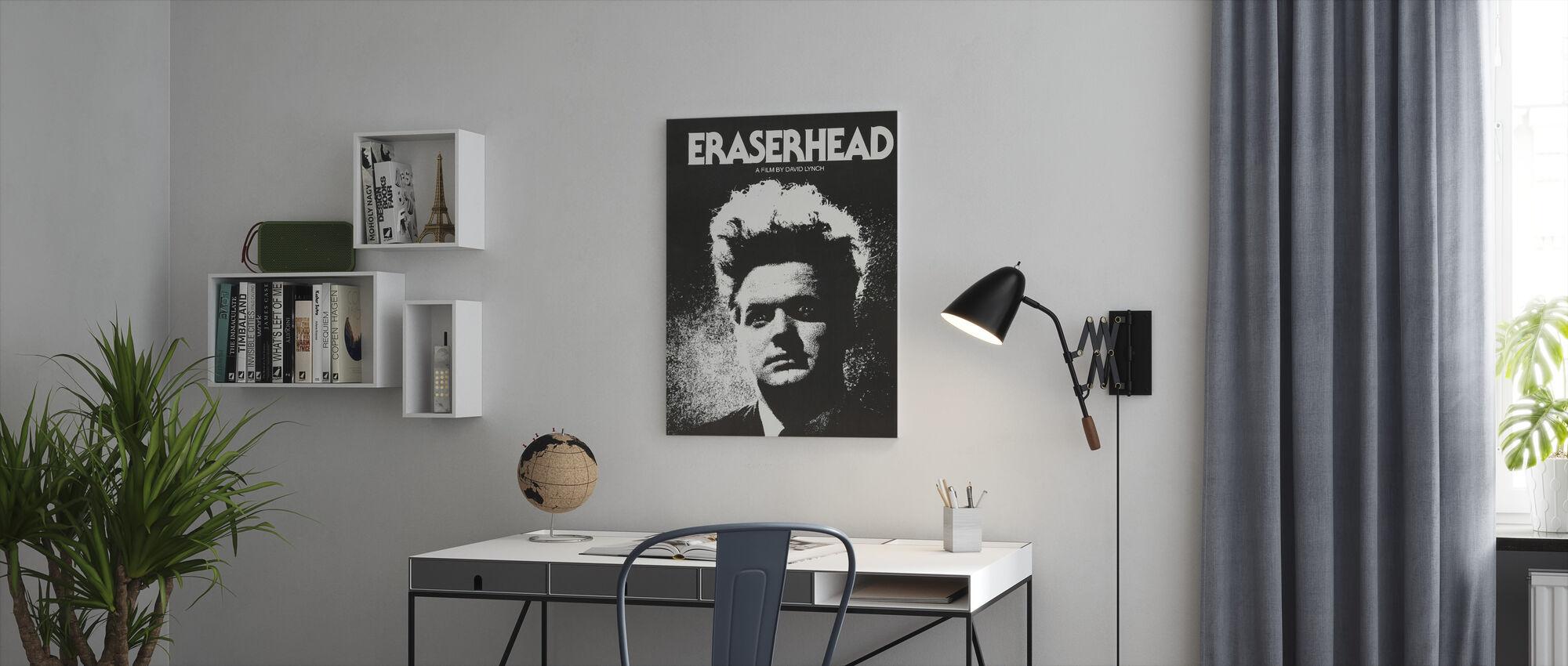 Eraserhead - Canvastaulu - Toimisto