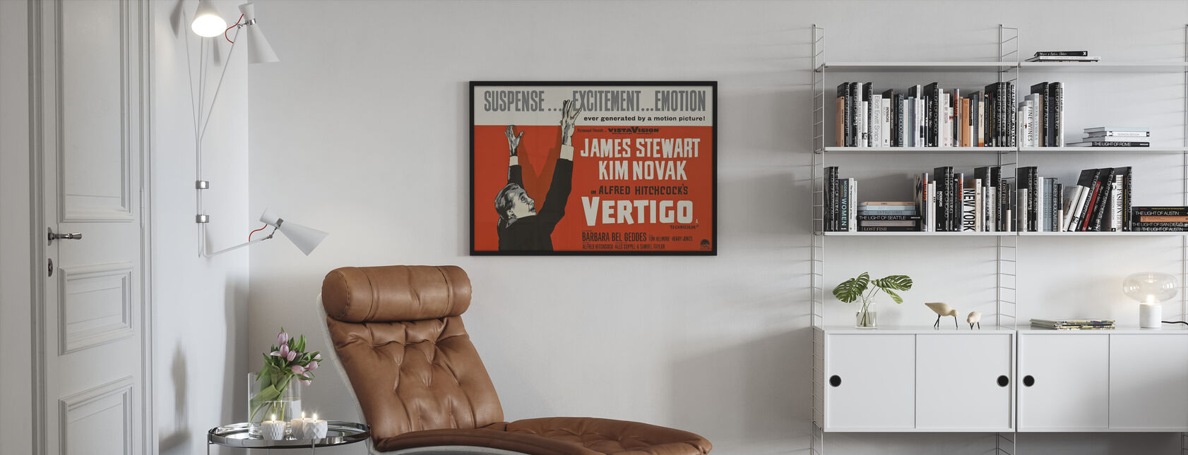Vertigini - Stampa incorniciata - Salotto