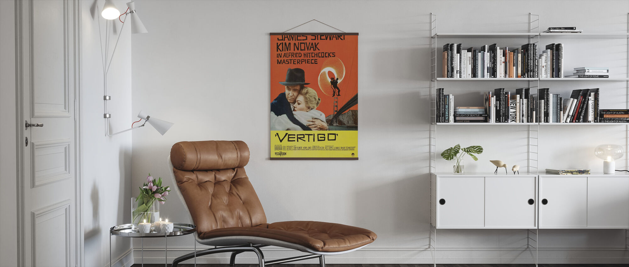 Vertigo - Poster - Living Room