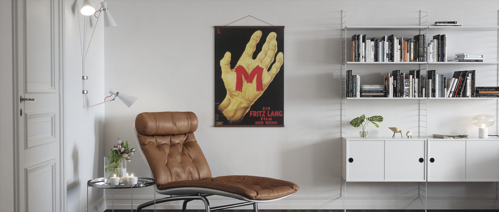 M - Poster - Living Room