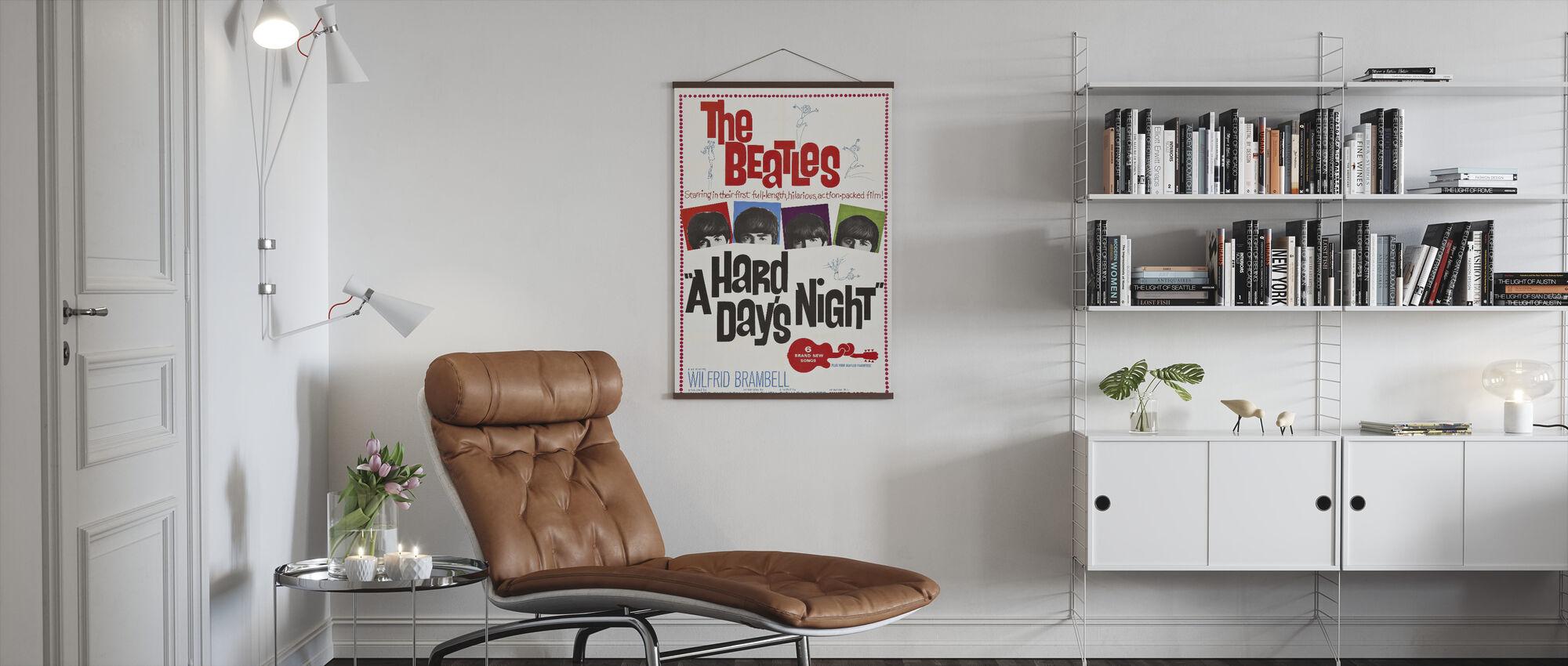 Hard Days Night - Poster - Living Room
