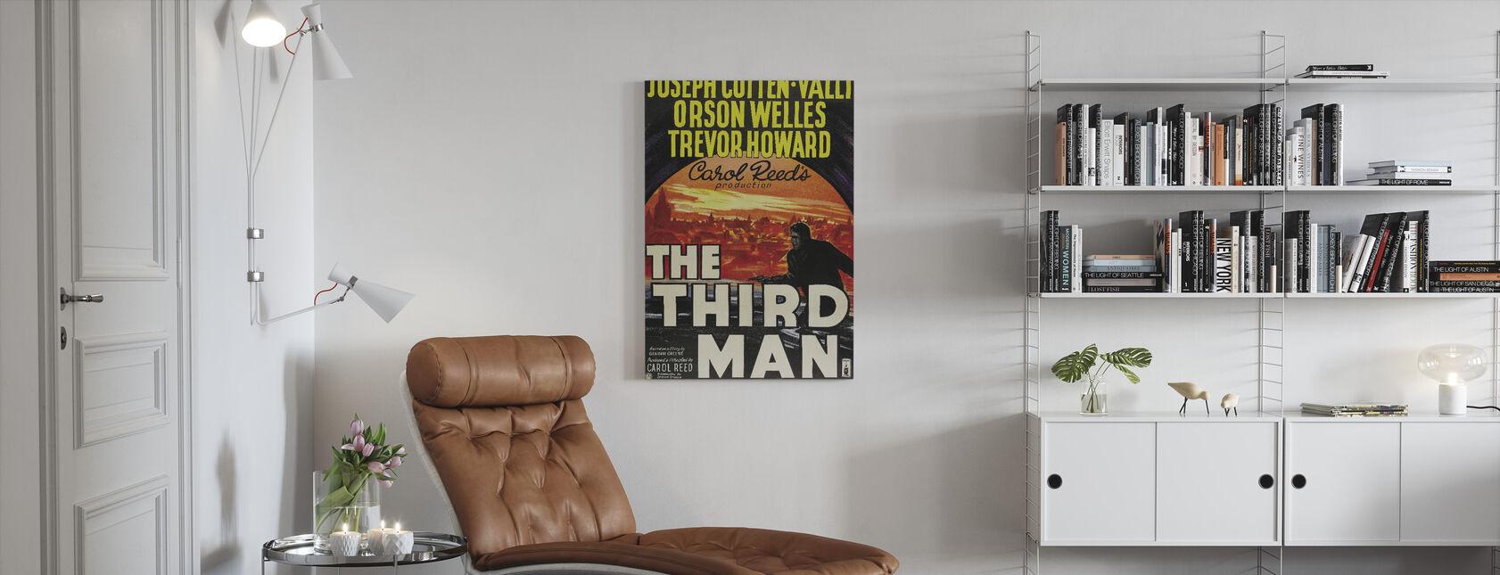 Third Man - Canvas print - Living Room