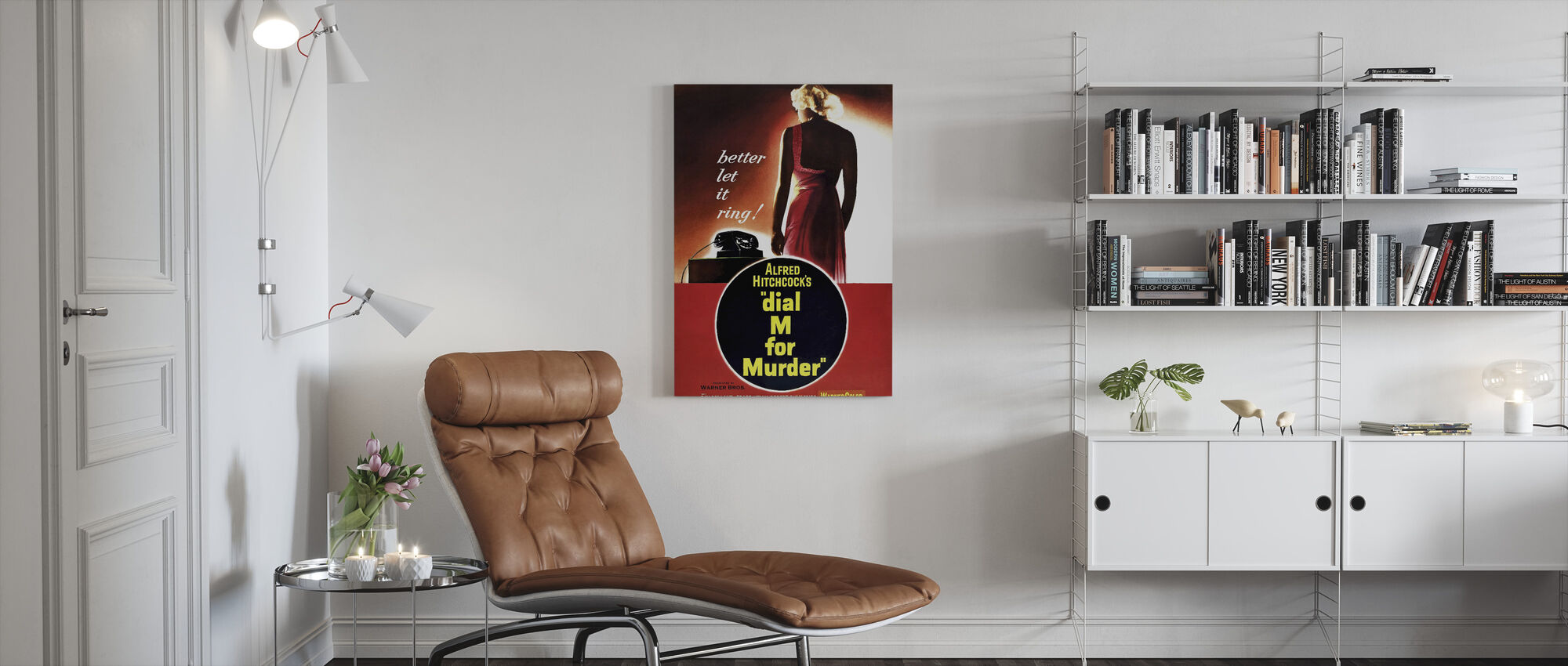 Dial M for Murder - Canvas print - Living Room