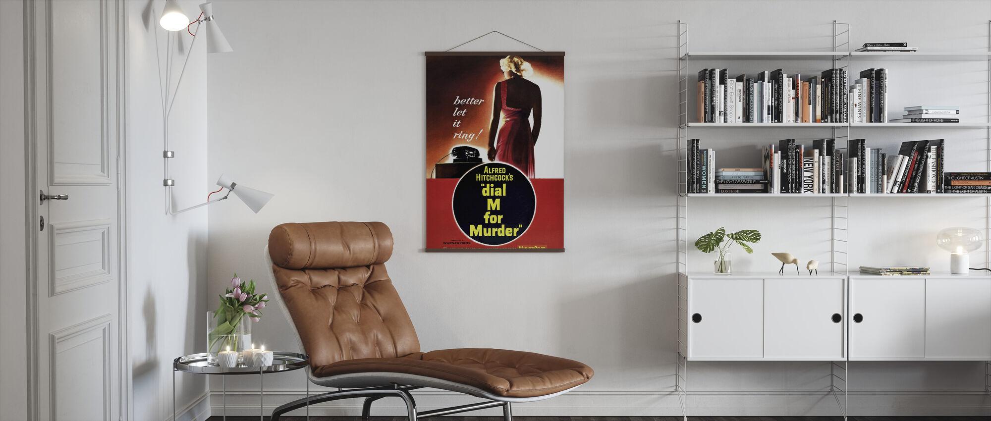 Dial M for Murder - Poster - Living Room